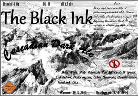 the black ink