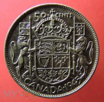 Moneta 50 cents 1945