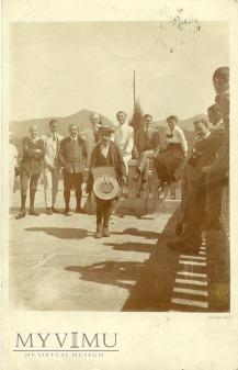 Szwajcaria - kataryniarz? - 1917 r.