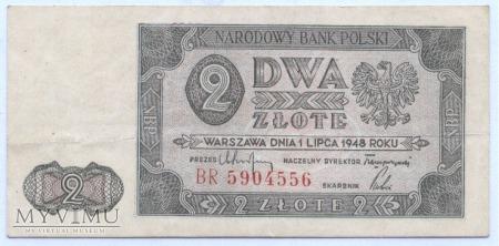 2 złote - 1948.