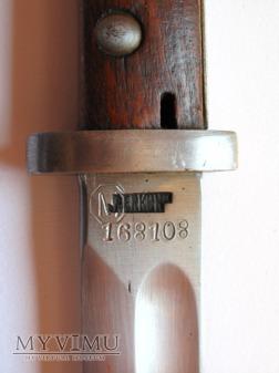 Bagnet wz.24 z zabka wz.22