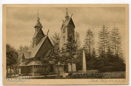 Karkonosze - Bierutowice, Świątynia Wang - 1934