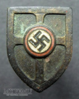 Duże zdjęcie Odznaka hitlerowska