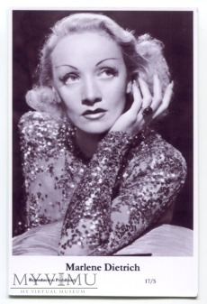 Marlene Dietrich Swiftsure Postcards 17/5