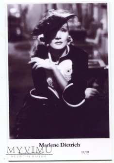 Marlene Dietrich Swiftsure Postcards 17/28