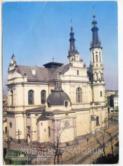 W-wa - Kościół Zbawiciela - 1984 ok.