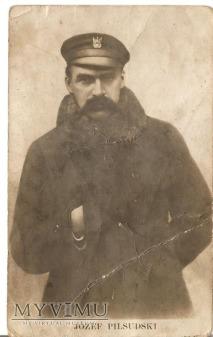 Pocztówka - Józef Piłsudski