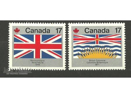 Kanada -flagi prowincji
