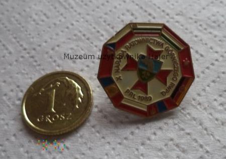 Odznaka Narada Ratownictwa Górniczego RWPG 1989