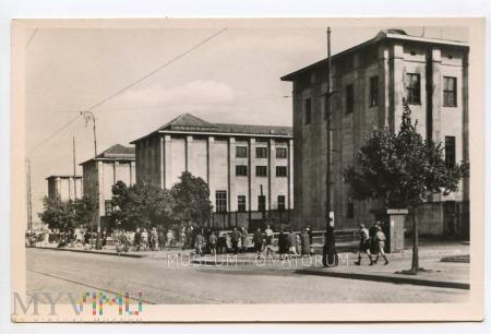W-wa - Al. Jerozolimskie Muzeum Narodowe - lata 50