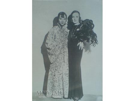 Marlene Dietrich Anna May Wong karta foto