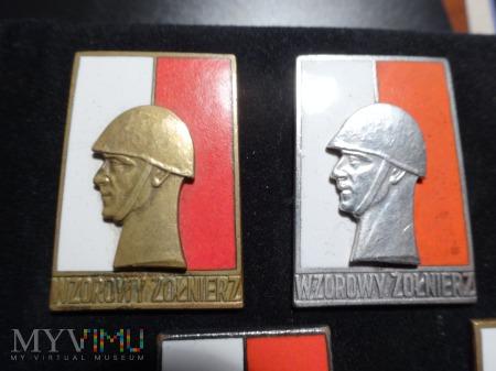 Wzorowy Żołnierz z 1958 i 1961 roku