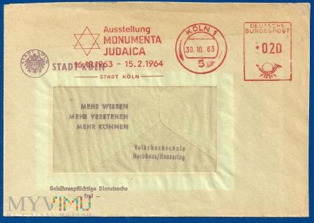 Wystawa-Monumenta Judaica-Kolonia.30.10.1963
