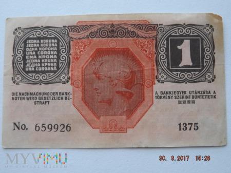 Eine Krone - 1 Krone 1916r.