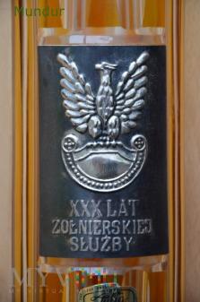 """Pamiątkwoy wazon """"XXX lat żołnierskiej słyżby"""""""