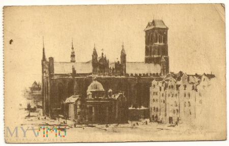 Gdańsk - Kaplica Królewska i kościół N.M.Panny.a
