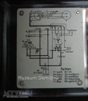 TELEFON POLOWY NIEMIECKI - MODEL 33 - 1937r