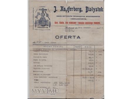 Oferta firmowa z 1931.