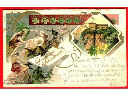 1899 Taniec i Orgie Czarownic HEXENTANZPLATZ