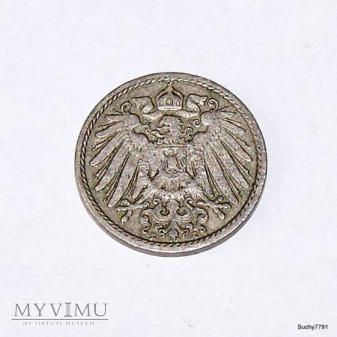5 Fenigów Cesarstwo Niemieckie