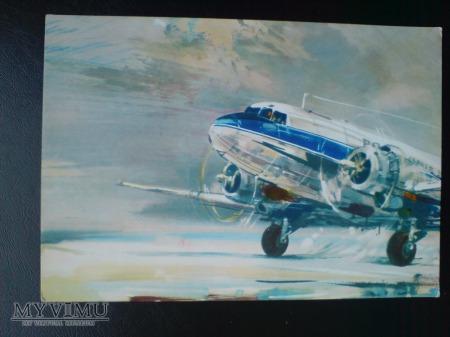 Polskie Linie Lotnicze LOT Kotek samolot c. 1989