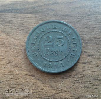 25 CENT - 1916 BELGIA