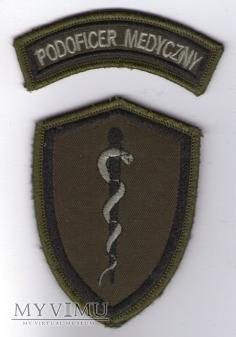 Duże zdjęcie Emblemat polowy: PODOFICER MEDYCZNY