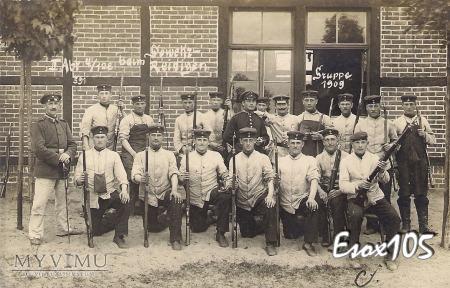 128 Pułk Piechoty Gdańsk - Nowy Port 1909