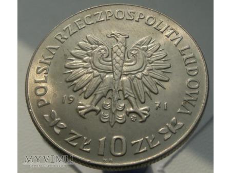 50 rocznica III Powstania Śląskiego, 10zł,1971 rok