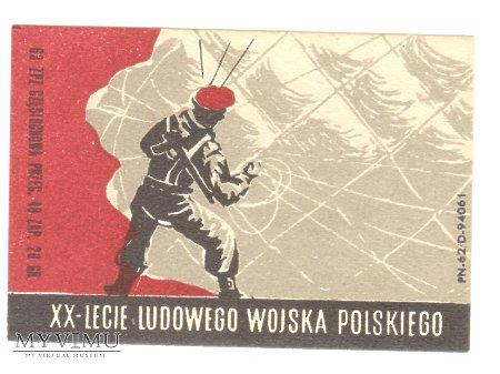 XX-LECIE LUDOWEGO WOJSKA POLSKIEGO