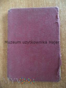 Bescheinigung Zaświadczenie Kozłów k. Miechów