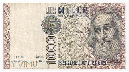 Włochy.11.Aw.1000 lire.1982.P-109a