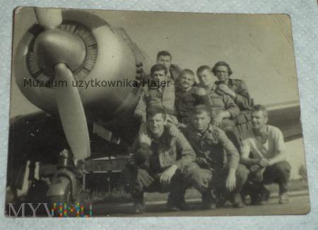 Zdjęcie żołnierzy LWP samolot