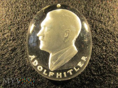 Szklane medaliony-KWHW Adolf Hitler