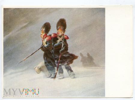 Rayski - Grenadierzy w śniegu