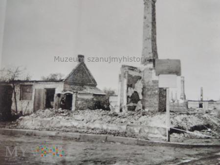 zniszczenia Zambrów 1939