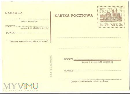 Kartka Pocztowa-1962