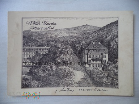 Villa Karin Marienbad - Mariańskie Łaźnie - Czechy