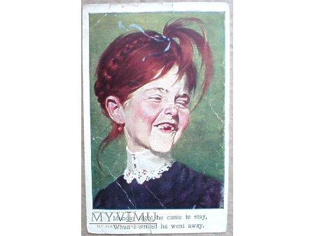 1909 Efekt szczerbca Piękny Uśmiech RUDZIELEC