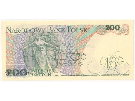 200 złotych 1988 rok seria EB