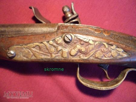 czeski pistolet skałkowy