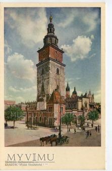 Kraków - Rynek - Ratusz - 1930