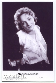 Marlene Dietrich Swiftsure Postcards 17/36