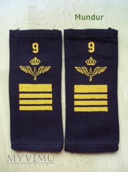 Szwecja - oznaka stopnia flygvapnet: st.plutonowy