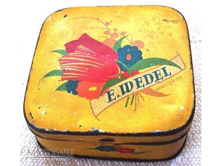 E.Wedel - pudełko po landrynkach.