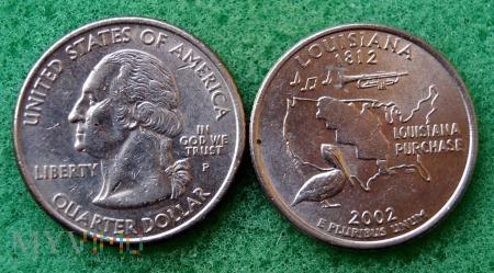 25 CENTS Louisiana 2002