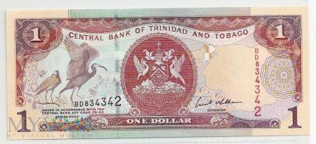 Trynidad & Tobago.2.Aw.1 dollar.2002.P-41