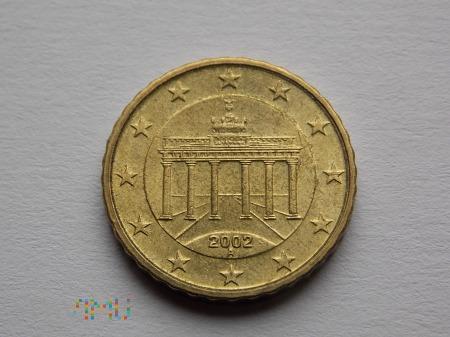 10 EURO CENTÓW 2002- NIEMCY