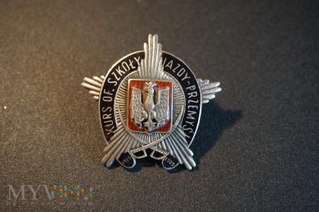 Odznaka Kurs Oficerski Szkoły Jazdy w Przemyślu