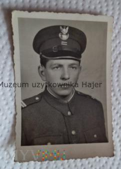 Duże zdjęcie Zdjęcie żołnierza LWP kapral 1971 rok